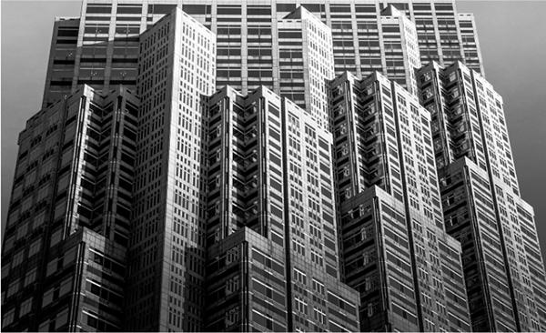 tokyo building shinjuku photography