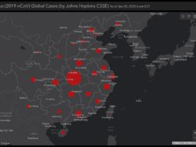 propagation corona virus carte interactive temps reel