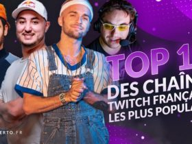 top chaines twitch